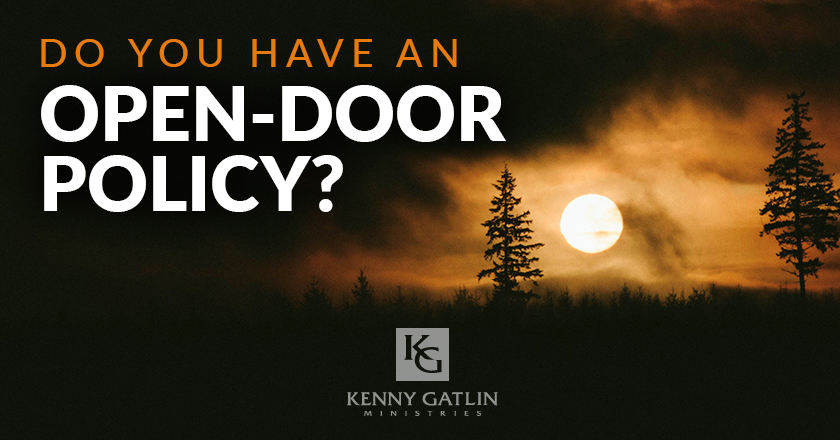Do You Have an Open-Door Policy?