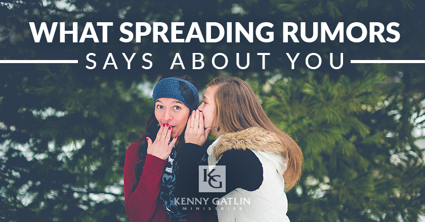 What Spreading Rumors Says About You
